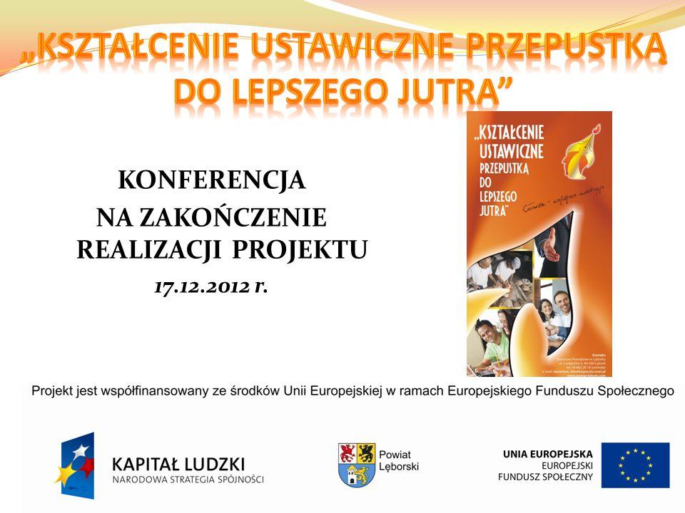 PLATFORMA E-LEARNING e-powiatleborski.pl Uczestnicy projektu mieli okazję korzystać z utworzonej w ramach projektu platformy e-learningowej zarówno w ramach odbywanych konsultacji, jak również indywidualnie, np.