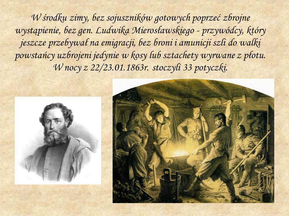 W środku zimy, bez sojuszników gotowych poprzeć zbrojne wystąpienie, bez gen. Ludwika Mierosławskiego - przywódcy, który jeszcze przebywał na emigracj