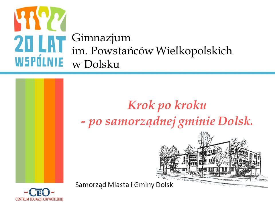Najważniejsze zadanie V kadencji - Powstanie Orlika 2012 W dniu 21 września 2009 roku w Dolsku odbyło się uroczyste otwarcie boiska wielofunkcyjnego powstałego w ramach projektu rządowego ORLIK 2012.