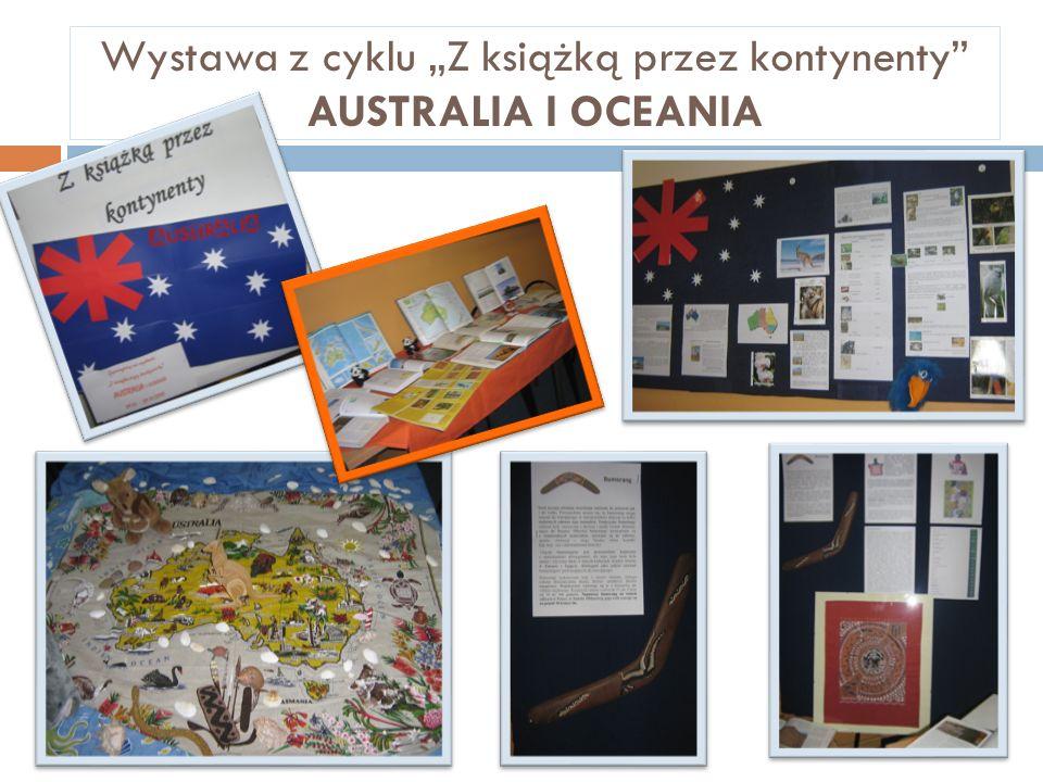 Wystawa z cyklu Z książką przez kontynenty AUSTRALIA I OCEANIA