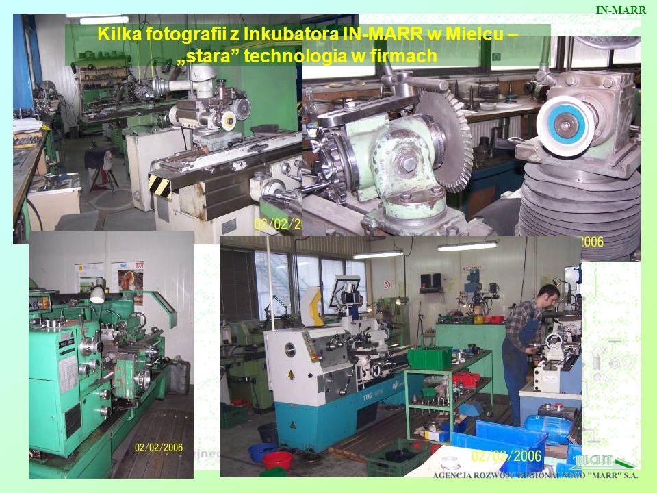 Kilka fotografii z Inkubatora IN-MARR w Mielcu – stara technologia w firmach IN-MARR