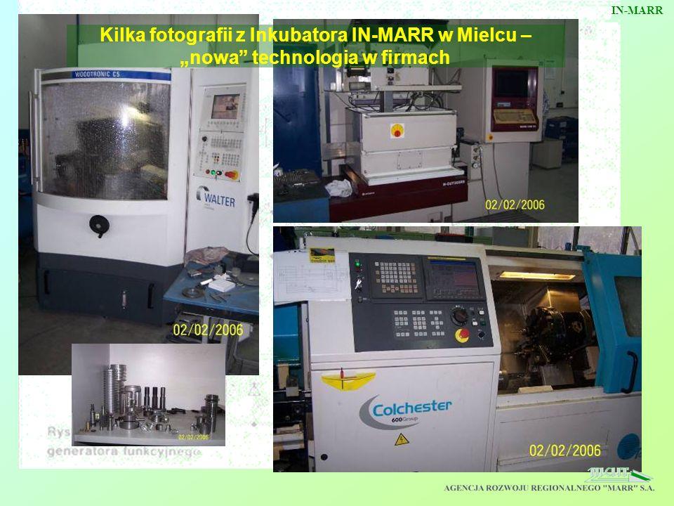 Kilka fotografii z Inkubatora IN-MARR w Mielcu – nowa technologia w firmach IN-MARR