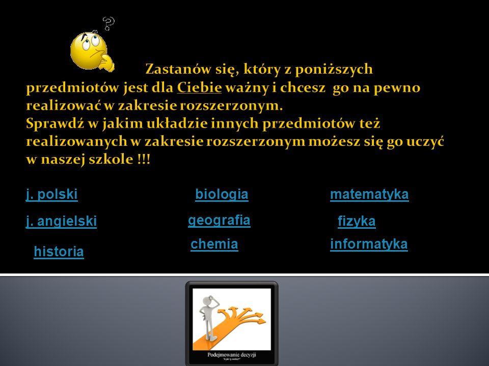 Ia 1 historia, j.angielski, j. polskihistoria Ia 2 historia, j.