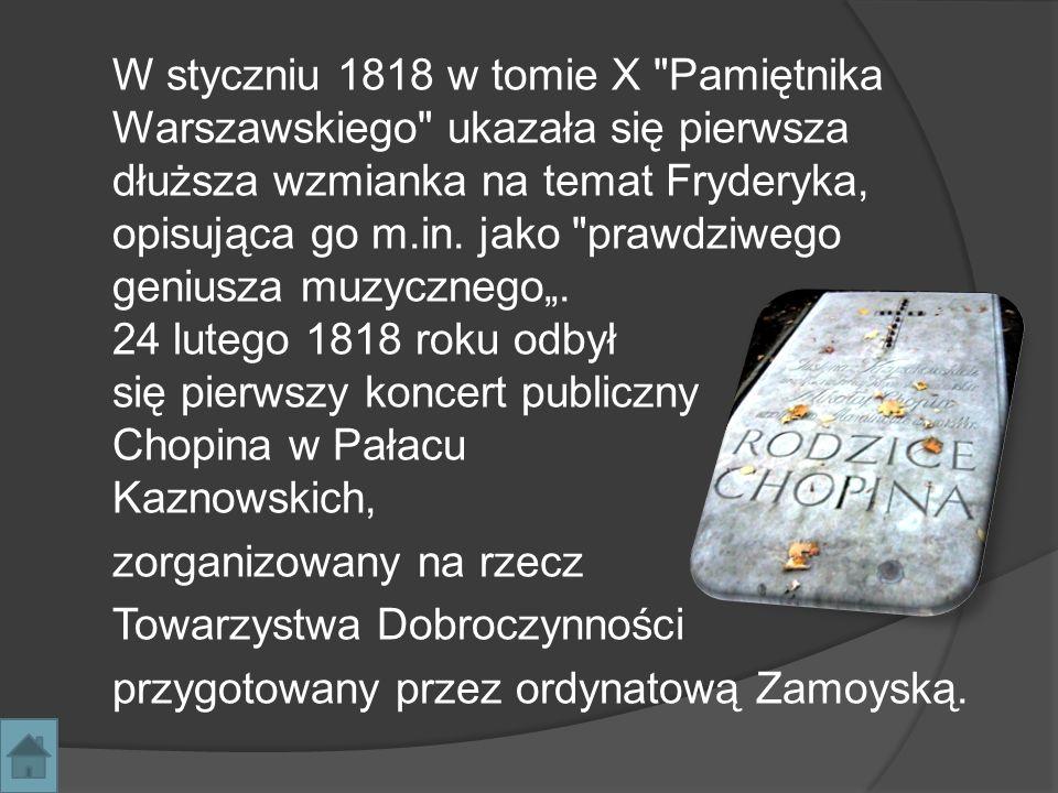 Od 1927 w Warszawie odbywa się Międzynarodowy Konkurs Pianistyczny im.