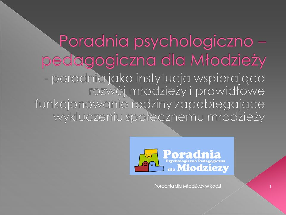 Poradnia dla Młodzieży w Łodzi 1