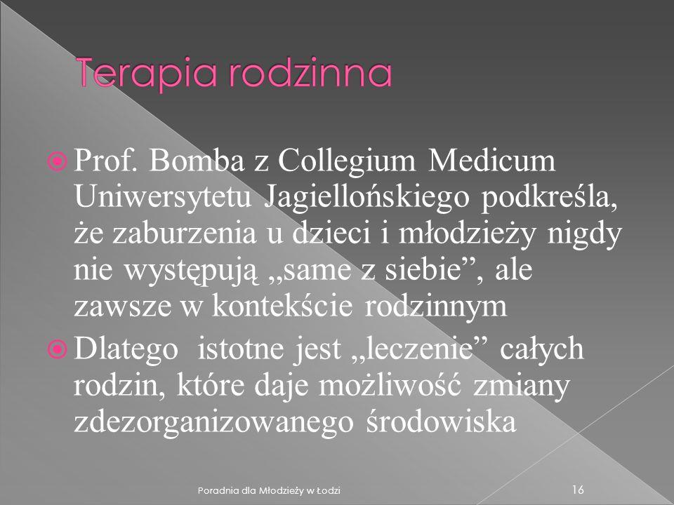 Prof. Bomba z Collegium Medicum Uniwersytetu Jagiellońskiego podkreśla, że zaburzenia u dzieci i młodzieży nigdy nie występują same z siebie, ale zaws