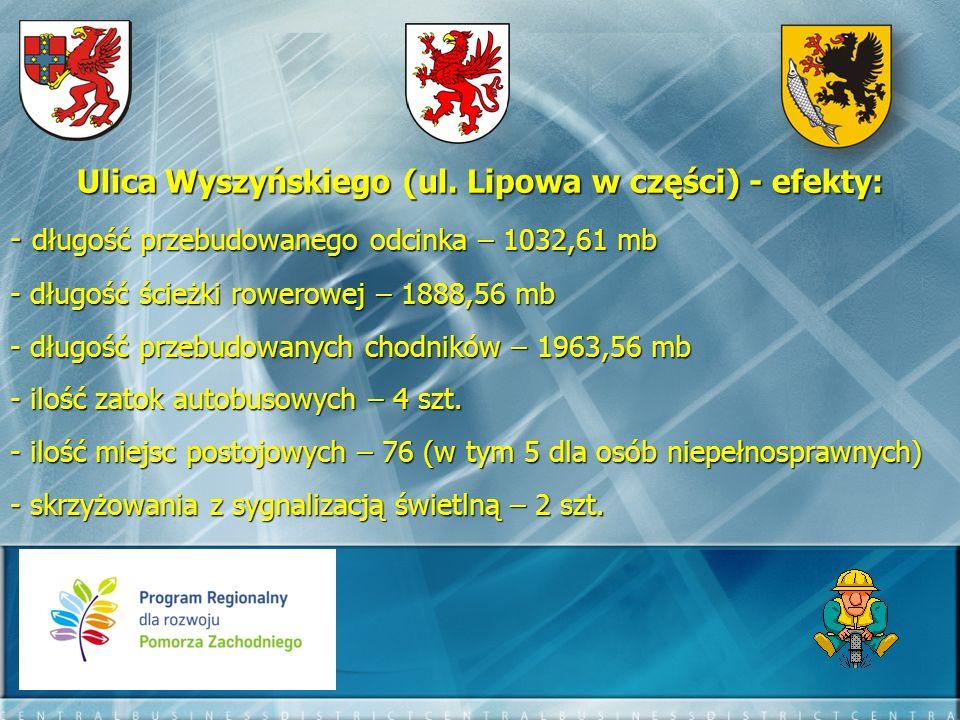 Ulica Kard. Stefana Wyszyńskiego PRZED PO