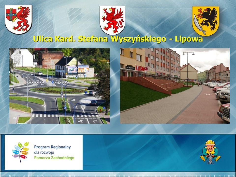 Ulica Jana Pawła II - efekty: - długość przebudowanego odcinka – 693,84 mb - długość ścieżki rowerowej – 220 mb - długość przebudowanych chodników – 993,68 mb - ilość zatok autobusowych – 4 szt.