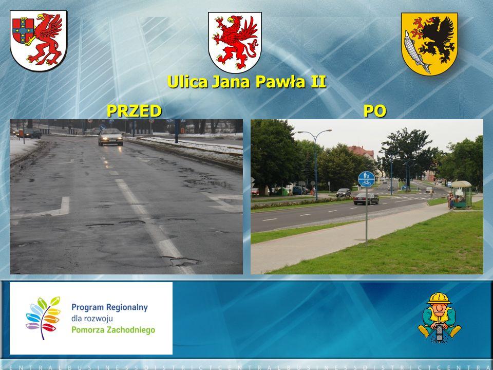 II.Waryńskiego II. Waryńskiego - długość drogi o nawierzchni bitumicznej o szer.