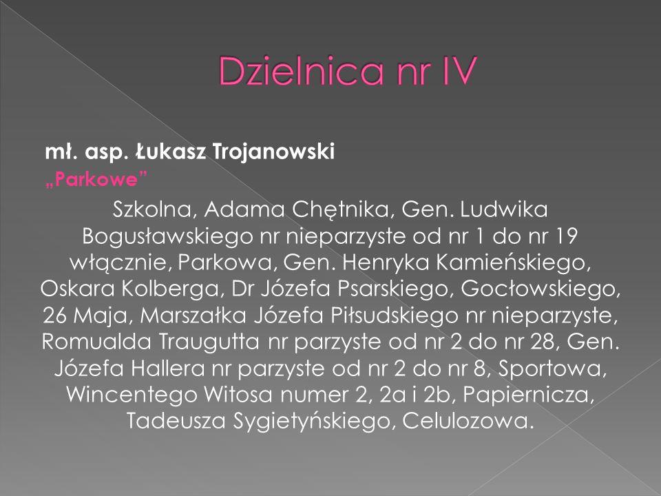 mł.asp. Tomasz Zatyka, z żoną Henryką mają dwóch pełnoletnich synów Adriana i Łukasza.
