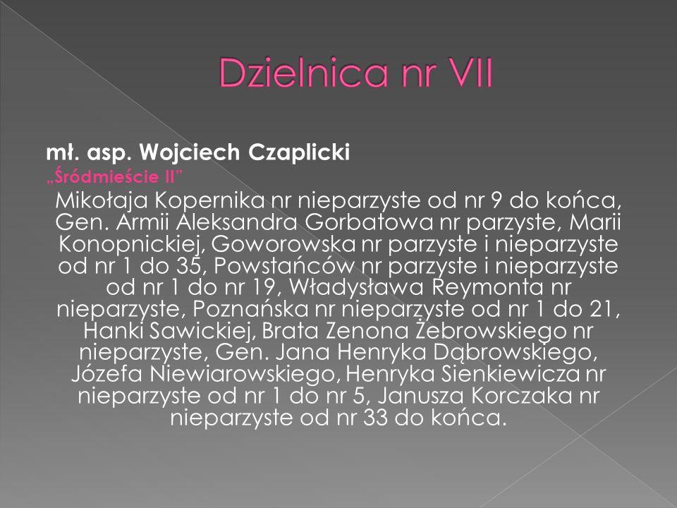 mł.asp. Tomasz Zatyka – Gmina Baranowo sierż.szt.