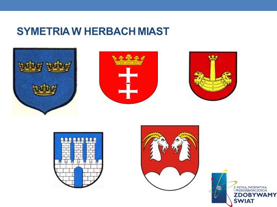 SYMETRIA W HERBACH MIAST