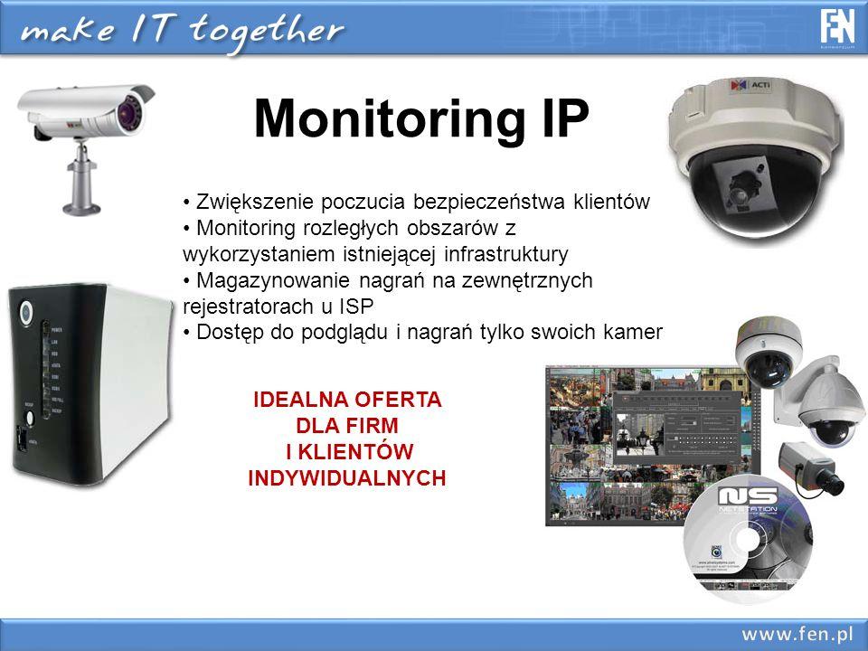 Rejestracja z monitoringu Proponujemy kilka możliwości rejestracji : 1.Rejestratory Koukaam -obsługa 8 / 24 / 48 kamer -obsługa do 4 dysków -prosta obsługa 2.