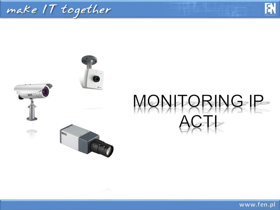 rejestracja obrazu rejestracja obrazu wykrywanie zdarzeń wykrywanie zdarzeń wysyłanie alertów wysyłanie alertów wykorzystanie istniejącej infrastruktury wykorzystanie istniejącej infrastruktury wykorzystanie zasobów sieciowych wykorzystanie zasobów sieciowych bezpłatne oprogramowanie bezpłatne oprogramowanie podgląd obrazu z zewnątrz z wykorzystaniem podgląd obrazu z zewnątrz z wykorzystaniem komputera lub 3GPP komputera lub 3GPP