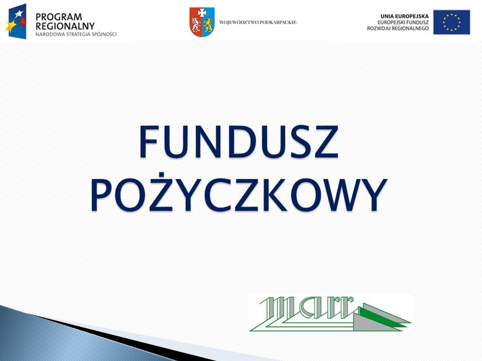 Warunki udzielania pożyczek maksymalna kwota pożyczki na cele inwestycyjne - 400 tys.