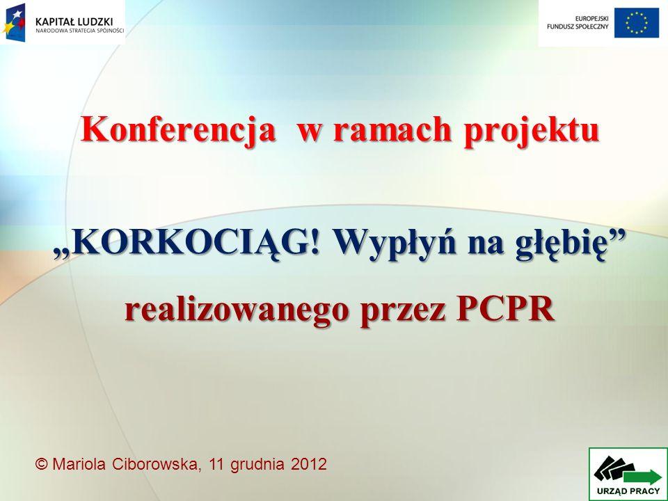 Konferencja w ramach projektu KORKOCIĄG.