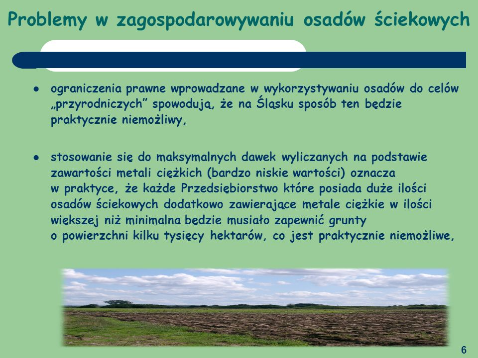 7 Aglomeracja – szansa czy przeszkoda w zagospodarowaniu osadów ściekowych Podział województwa śląskiego na regiony gospodarki odpadami zgodnie z KPGO 2010 Województwo śląskie zamieszkuje blisko 4,7 mln osób, co stanowi 12,2% ludności Polski i jest ono najbardziej zurbanizowanym regionem Polski (78,4% ludności miejskiej) oraz posiada najwyższą w kraju gęstość zaludnienia (377 osób/km², gdzie średnia krajowa to 122 osoby/km²).