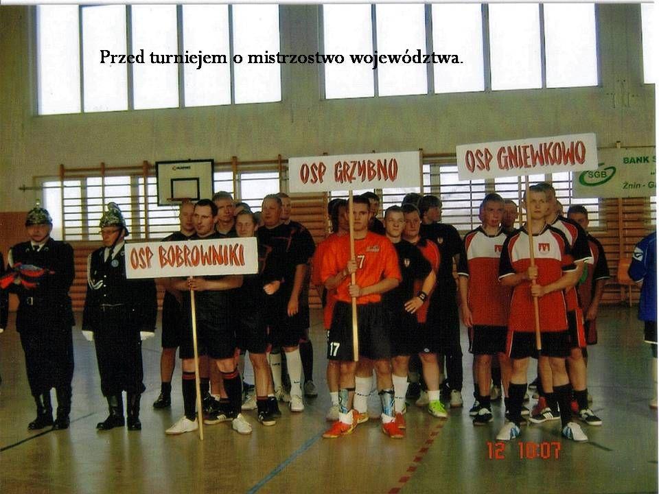 Przed turniejem o mistrzostwo województwa.