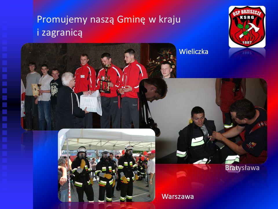Promujemy naszą Gminę w kraju i zagranicą Wieliczka Warszawa Bratysława