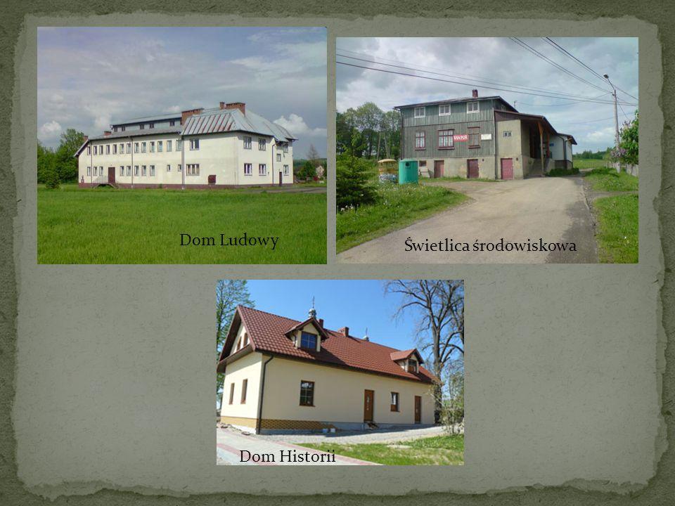 Dom Ludowy Świetlica środowiskowa Dom Historii