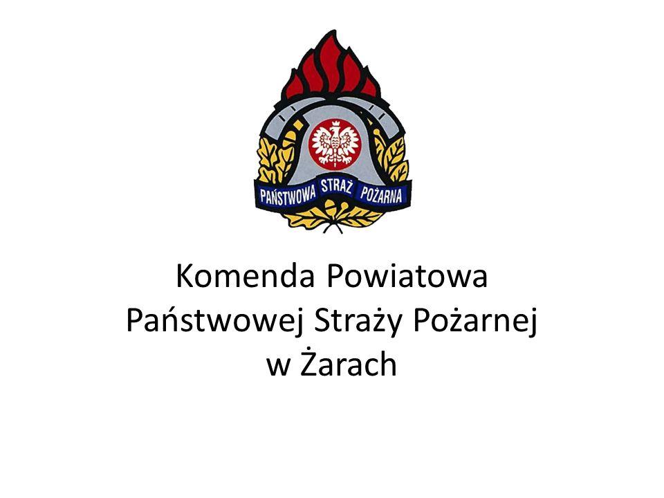 Komenda Powiatowa Państwowej Straży Pożarnej w Żarach