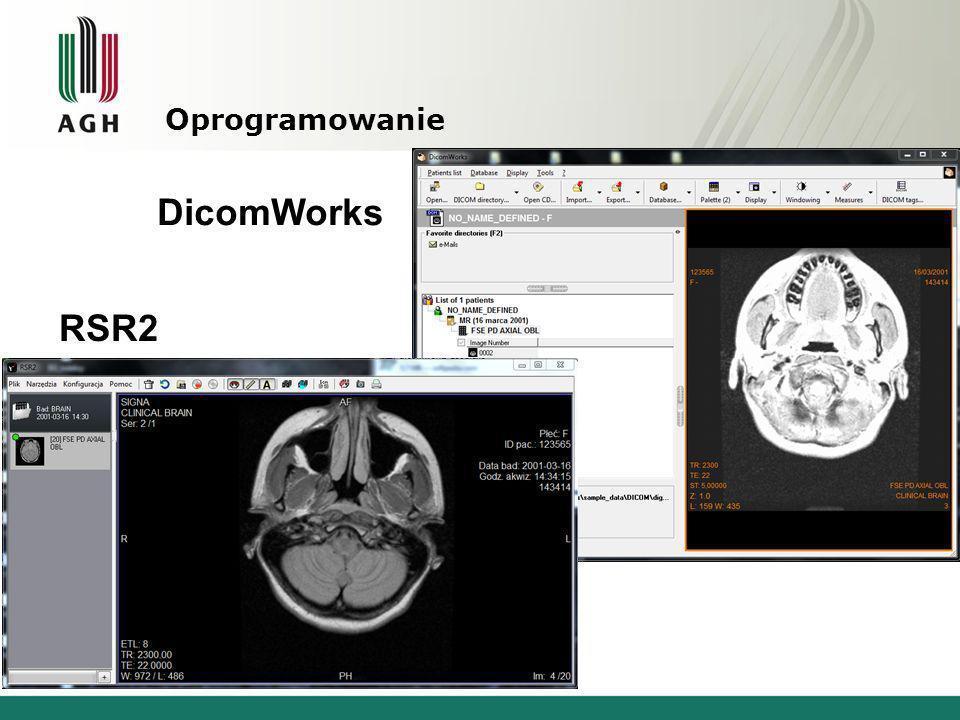 Oprogramowanie DicomWorks RSR2
