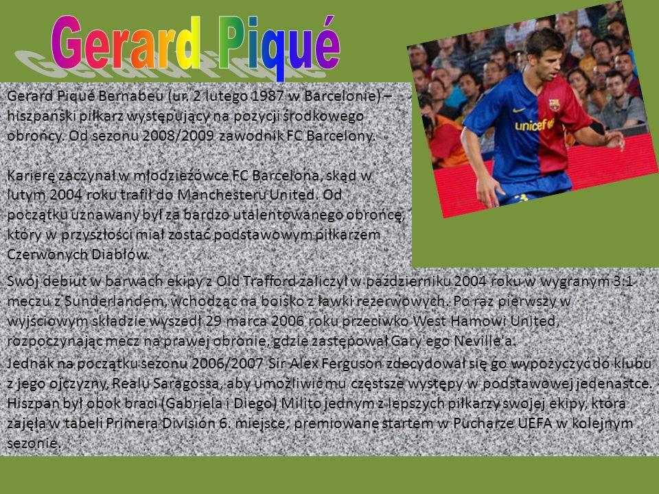 Gerard Piqué Bernabeu (ur.