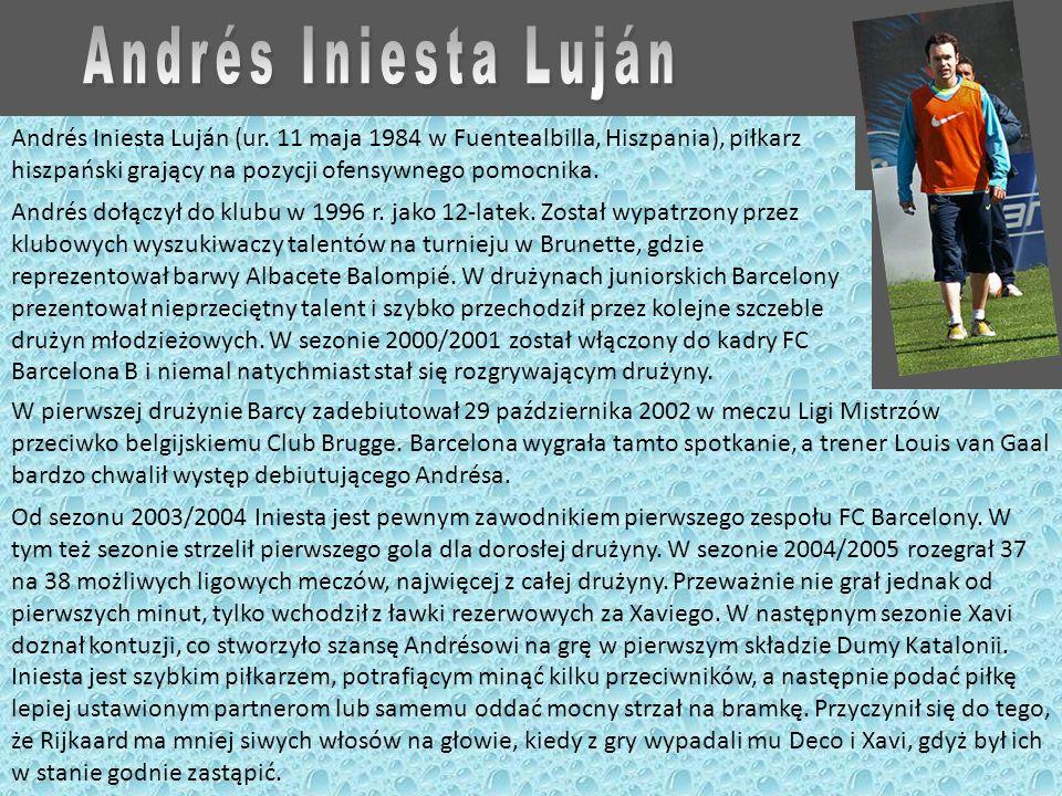 Andrés Iniesta Luján (ur.