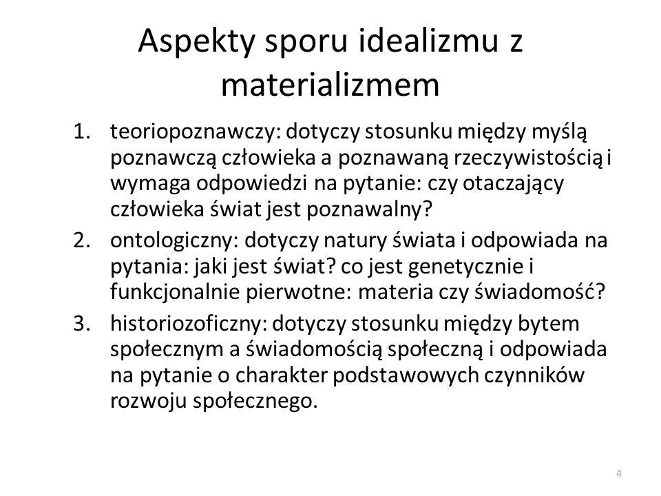 Etapy rozwoju filozofii materialistycznej Materializm naiwny Mechanistyczny Dialektyczny Podstawowe cechy wspólne i różnice 5