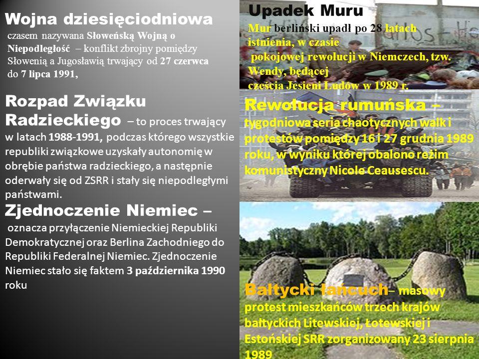 Wojna dziesięciodniowa czasem nazywana Słoweńską Wojną o Niepodległość – konflikt zbrojny pomiędzy Słowenią a Jugosławią trwający od 27 czerwca do 7 l