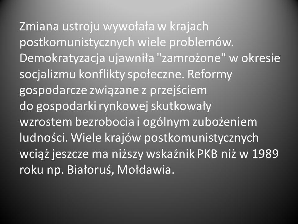 Rozmowy w Magdalence – spotkania władz państwowych PRL z przedstawicielami NSZZ Solidarność, odbywające się od 16 września 1988 roku w ośrodku konferencyjnym MSW Magdalence pod Warszawą Aksamitna rewolucja – To określenie wydarzeń roku 1989 w Czechosłowacji, które doprowadziły do obalenia systemu komunistycznego oraz elit sprawujących władzę, a także transformacji ustrojowej, która niedługo później nastąpiła, pozwalając Czechosłowacji wstąpić na drogę demokracji parlamentarnej.