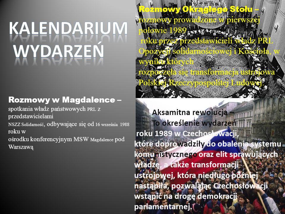 Rozmowy w Magdalence – spotkania władz państwowych PRL z przedstawicielami NSZZ Solidarność, odbywające się od 16 września 1988 roku w ośrodku konfere