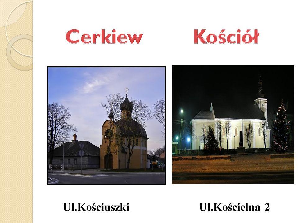 Ul.Kościelna 2Ul.Kościuszki