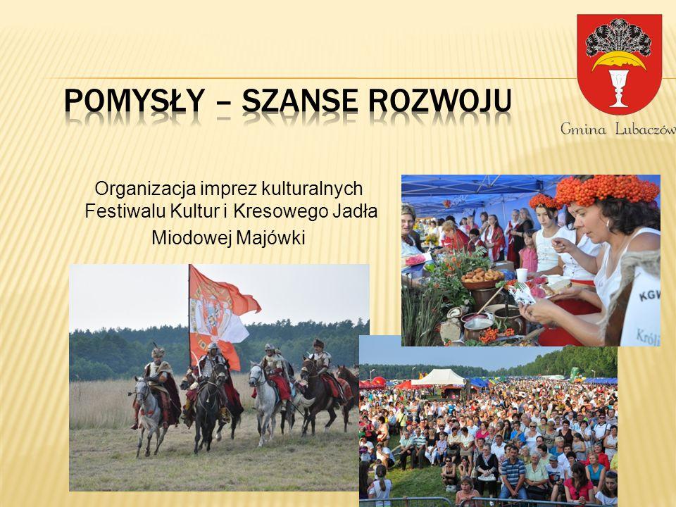 Organizacja imprez kulturalnych Festiwalu Kultur i Kresowego Jadła Miodowej Majówki