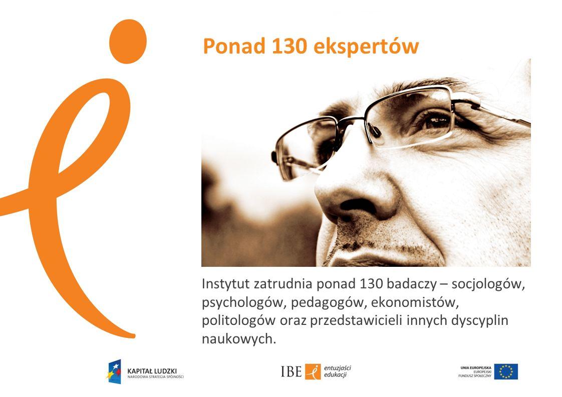 Instytut zatrudnia ponad 130 badaczy – socjologów, psychologów, pedagogów, ekonomistów, politologów oraz przedstawicieli innych dyscyplin naukowych. P