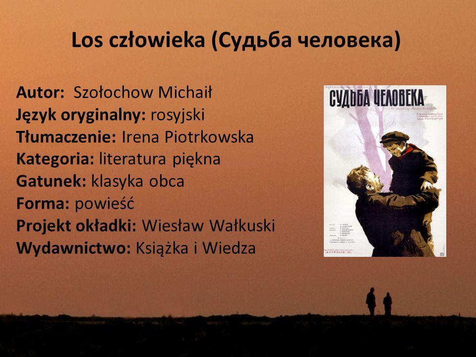 Wprowadzenie Książka ma charakter wspomnień byłego żołnierza armii ZSRR, który to opowiada o swoim życiu, zaczynając od wojny domowej, kończąc na okresie powojennym.
