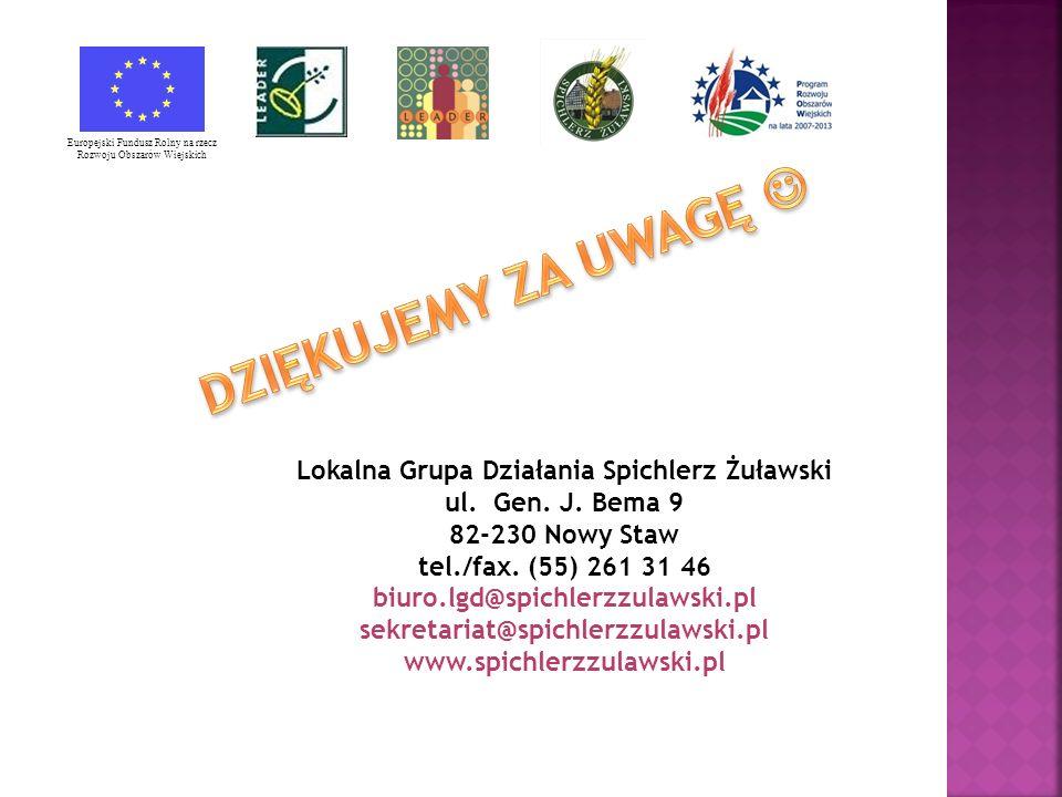 Lokalna Grupa Działania Spichlerz Żuławski ul. Gen.