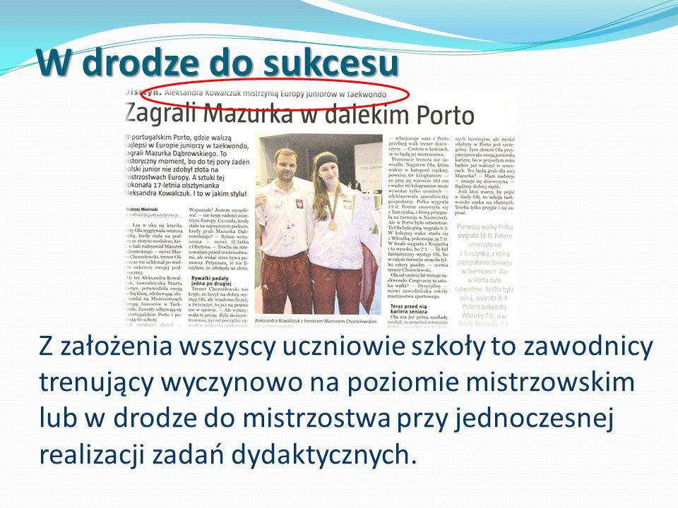 Współpraca z Olsztyńską Szkołą Wyższą Pierwszeństwo w przyjmowaniu absolwentów SMS na studia na: Wydziale Wychowania Fizycznego Wydziale Fizjoterapii.
