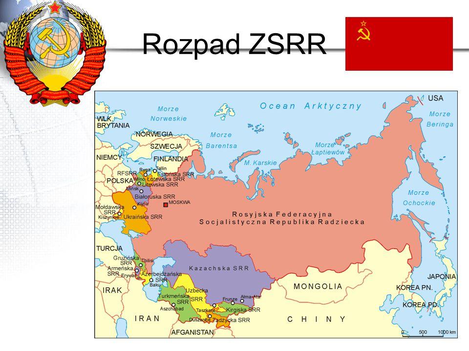 Państwa powstałe z rozpadu ZSRR