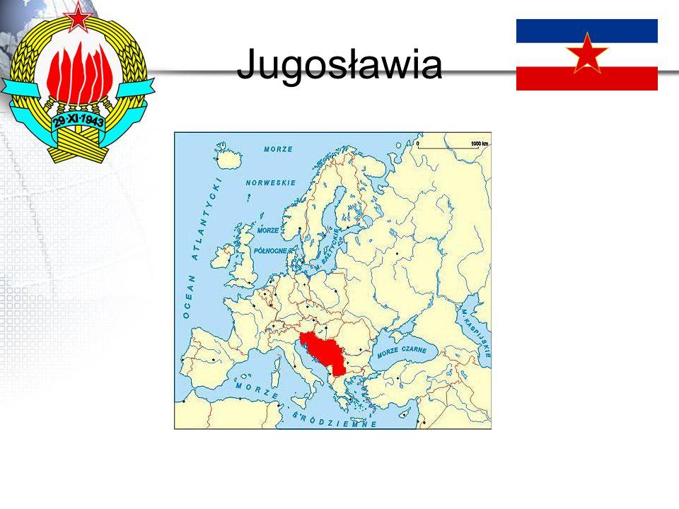 Rozpad Jugosławii W 1991 r.