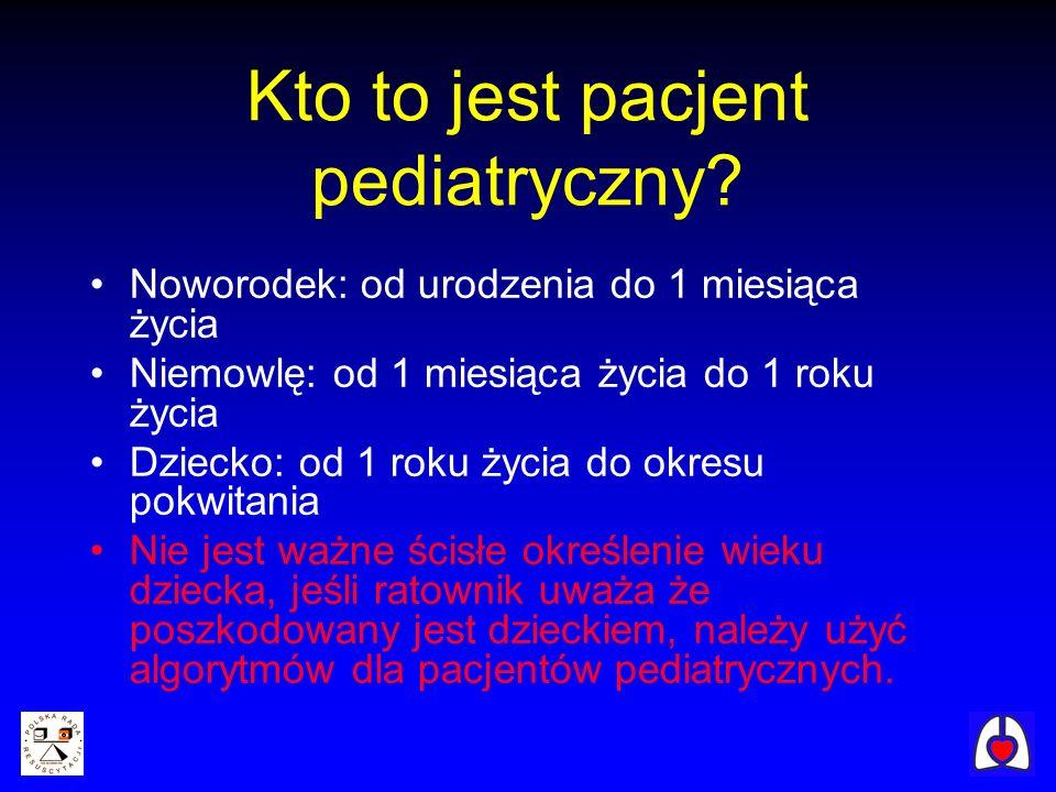Kto to jest pacjent pediatryczny? Noworodek: od urodzenia do 1 miesiąca życia Niemowlę: od 1 miesiąca życia do 1 roku życia Dziecko: od 1 roku życia d