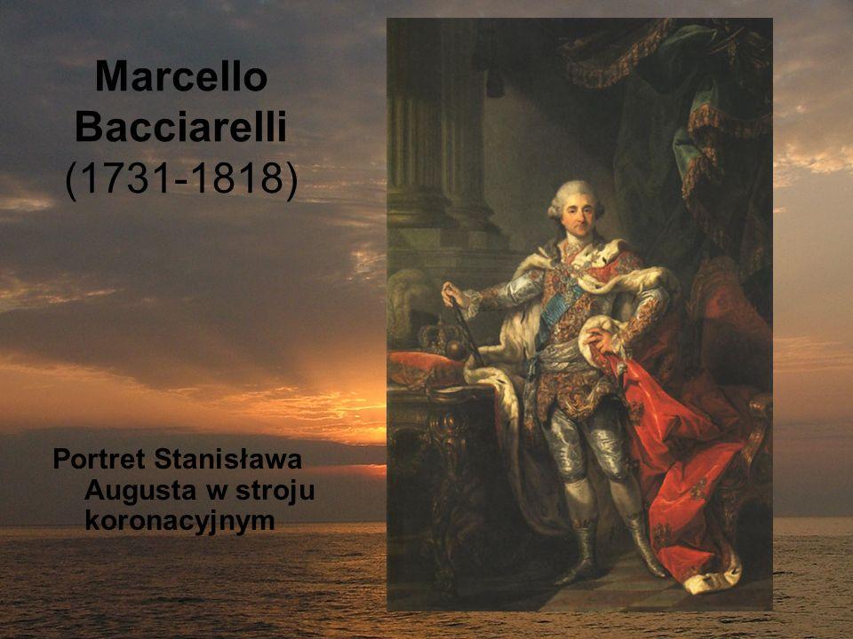 Marcello Bacciarelli (1731-1818) Portret Stanisława Augusta w stroju koronacyjnym