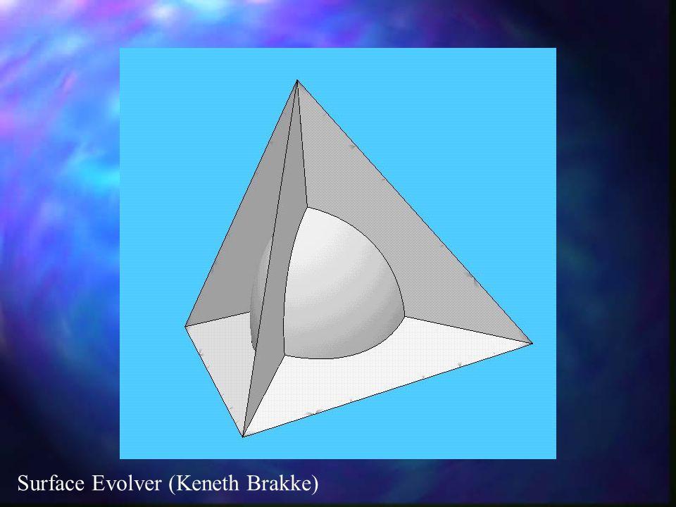 Surface Evolver (Keneth Brakke)
