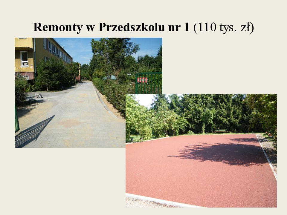 Remonty w Przedszkolu nr 1 (110 tys. zł)