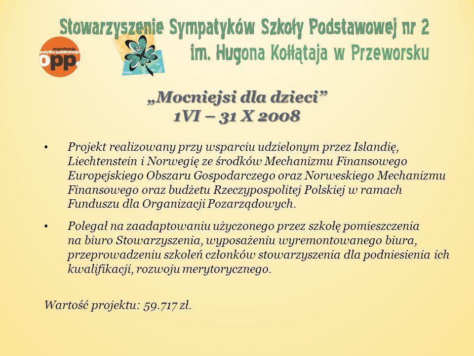 Akcja Nakrętka Od XI 2007 r.