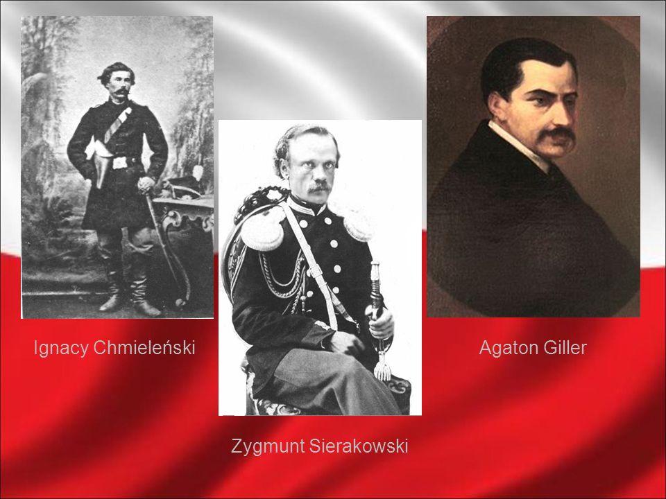 Ignacy ChmieleńskiAgaton Giller Zygmunt Sierakowski