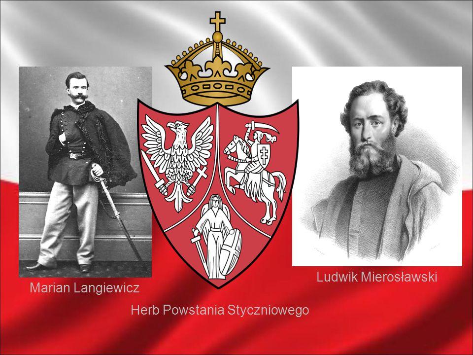 Węgrow 3 II 1863 Ludwik Mierosławski Marian Langiewicz Herb Powstania Styczniowego