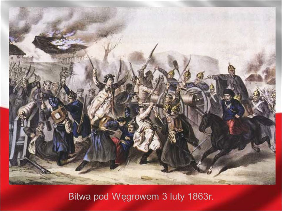Bitwa pod Węgrowem 3 luty 1863r.