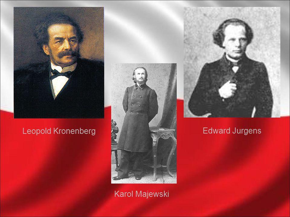 Leopold Kronenberg Edward Jurgens Karol Majewski