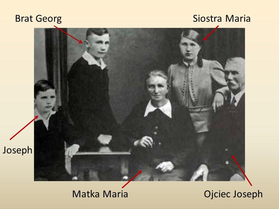Brat GeorgSiostra Maria Matka MariaOjciec Joseph Joseph